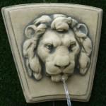 Coade Stone Lion Head