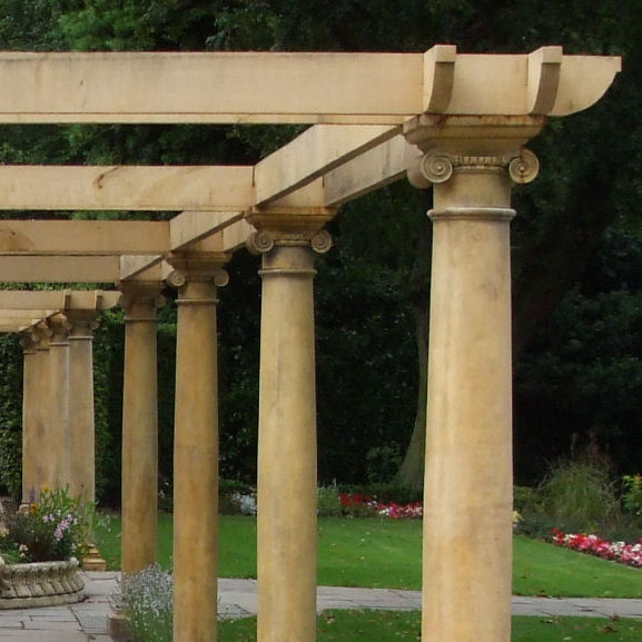 Garden Columns and Pillars Stone Garden Ornaments