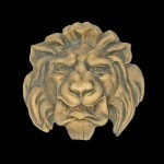 French Lion Head Water Spout