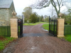 Gate Piers on Prominent Scottish Estate 06