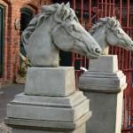 Horses Head Finial