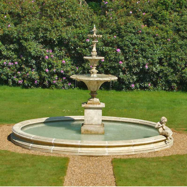 3 Tier Fountain Stone Garden Ornaments