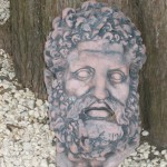 Large Hercules Head Plaque