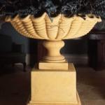 Large Scallop Shell Urn