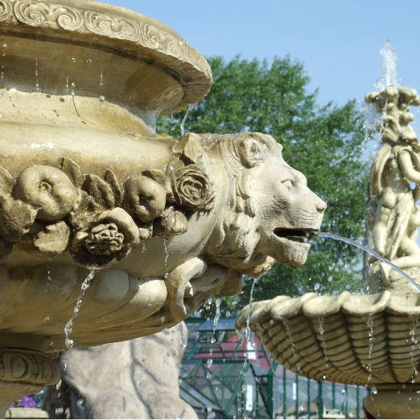 Fountain Water Spouts