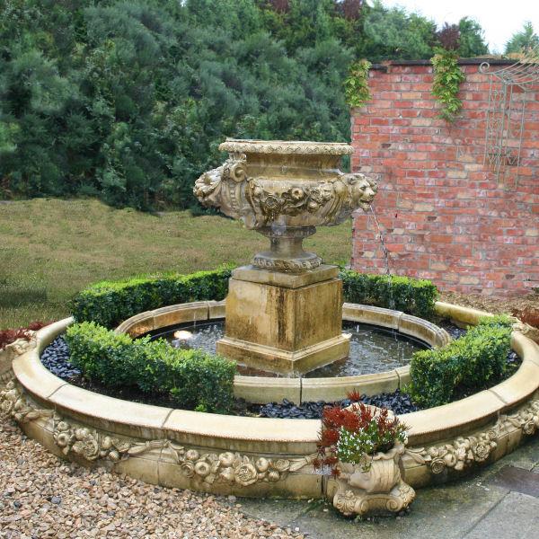 Lion Mask Fountain