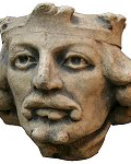Medieval Corbel - The King