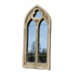 Miniature Trefoil Double Arch Window