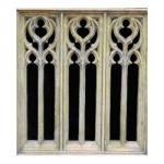 Small Decorative Triple Window