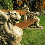 Winged Lion Bench