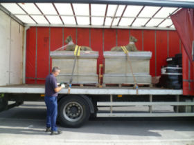 Tritonstone loading Lorry